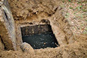 full septic tank